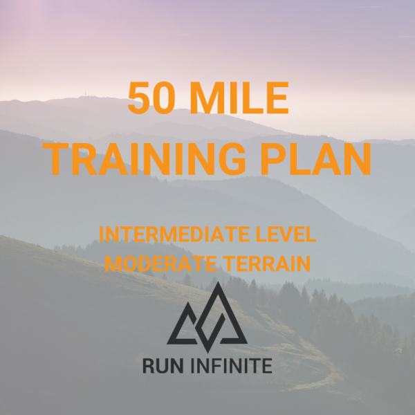 Trail running training plan 50 mile