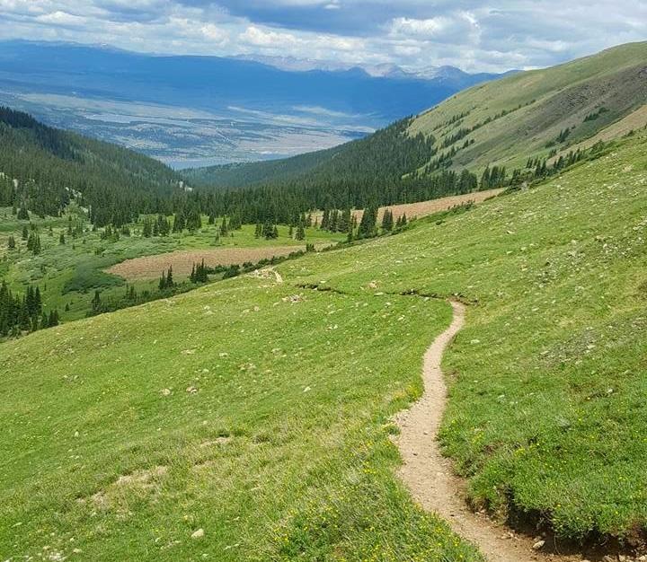 Leadville 100 mile hope pass summit twin lakes