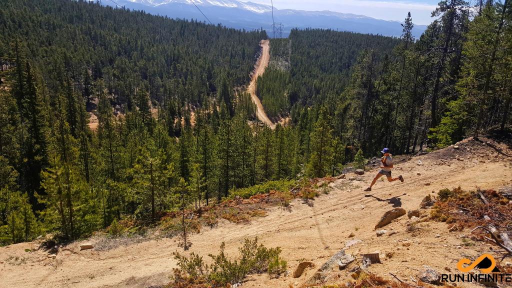 Powerline leadville 100 mile running trail race