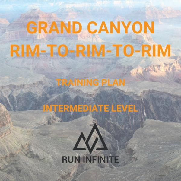 Trail running training plan grand canyon r2r2r rim to rim to rim