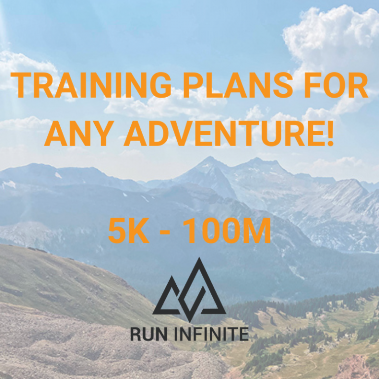 Trail running ultrarunning training plans 100 mile 50 marathon 14ers mountain